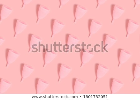 Silicone menstrual cup Stock photo © gsermek