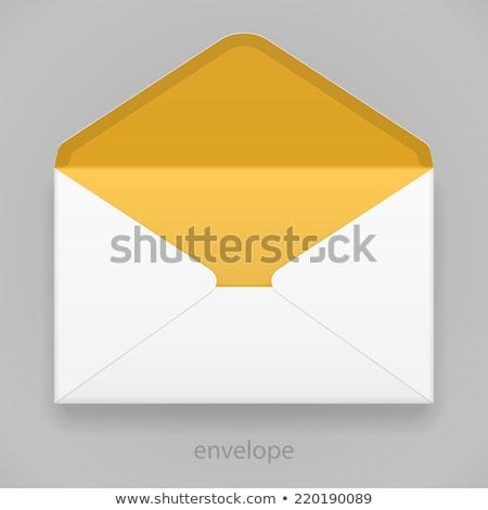 postal services: package, yellow envelope, letter envelope Stock photo © pcanzo