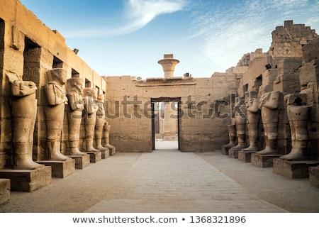 Египет фараон храма древних Луксор стены Сток-фото © Mikko