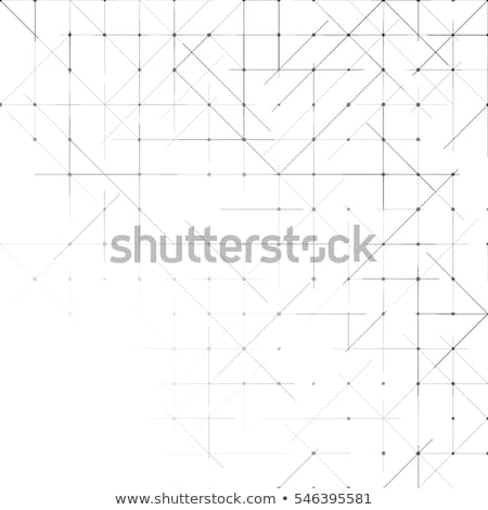 Moderne wireframe netwerk digitale stijl abstract Stockfoto © SArts