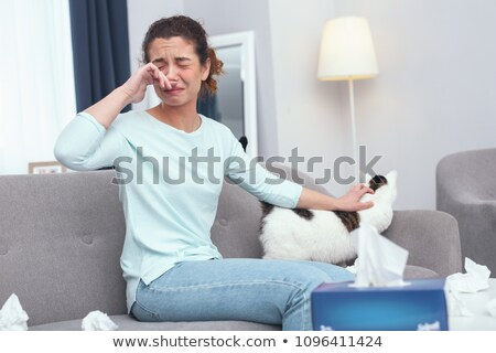 Cat Allergy Stock photo © Lightsource