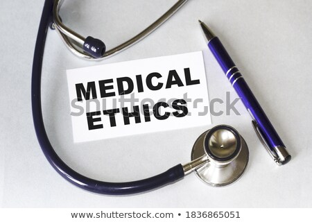 invecchiamento · diagnosi · medici · stampata · menta · verde - foto d'archivio © tashatuvango