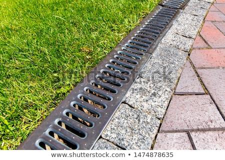 fuite · eaux · usées · pollution · pipe · eau - photo stock © luissantos84