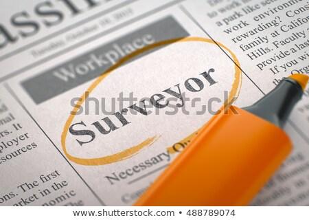 3d · render · nagyító · szöveg · képzés · terv · teszt - stock fotó © tashatuvango