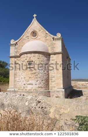 Velho ortodoxo capela mosteiro Grécia oriental Foto stock © ankarb
