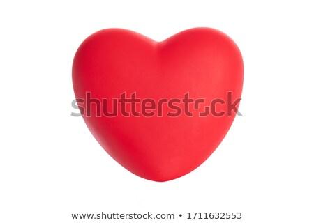 kırmızı · çerçeve · kalpler · aziz - stok fotoğraf © cammep