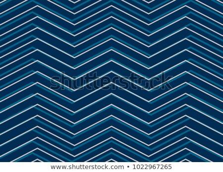 青 パターン ジグザグ スタイル ストックフォト © SArts