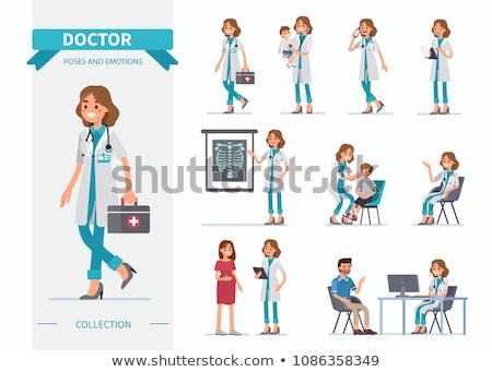 беременна пациент Consulting врач больницу женщину Сток-фото © wavebreak_media