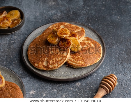 Homemade Crepes With Sugar Stock photo © mpessaris