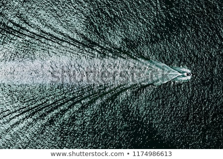 motorboat seen from above Stock photo © adrenalina
