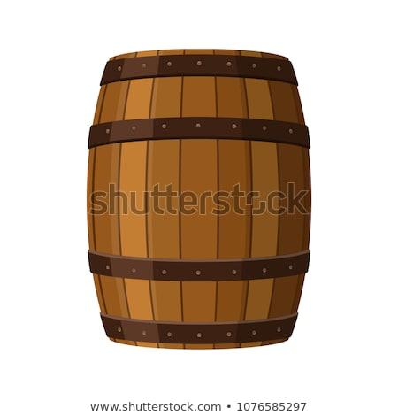 Cerveza tambor diseno edad barril Foto stock © Vicasso