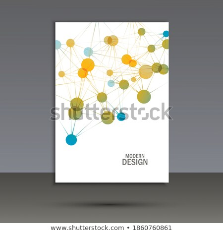 dna structure vector evolution symbol chemistry cover microscopic element illustration stock photo © pikepicture