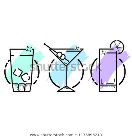 establecer · jar · cerveza · ilustración · útil · disenador - foto stock © robuart