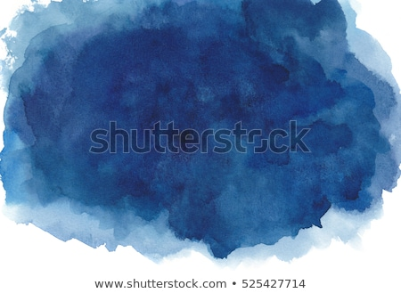 blue watercolor stain effect background Stock photo © SArts