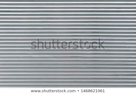 Detail of the metal shutters Stock photo © boggy