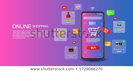 Buy Now with Discount, Shopping Concept Sale Store Stock photo © robuart