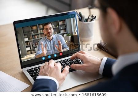 Men consulting Stock photo © pressmaster