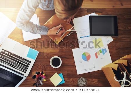 ビジネス · インフォグラフィック · チャート · 抽象的な · インフォグラフィック · レイアウト - ストックフォト © robuart