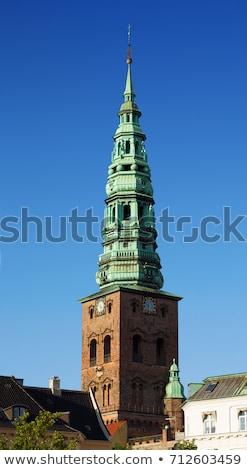 église · Copenhague · contemporain · art · centre · tour - photo stock © borisb17