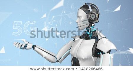 Call Bot 5G Network Stock photo © limbi007