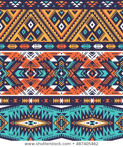native tribe pattern background wallpaper vector art Stock photo © vector1st