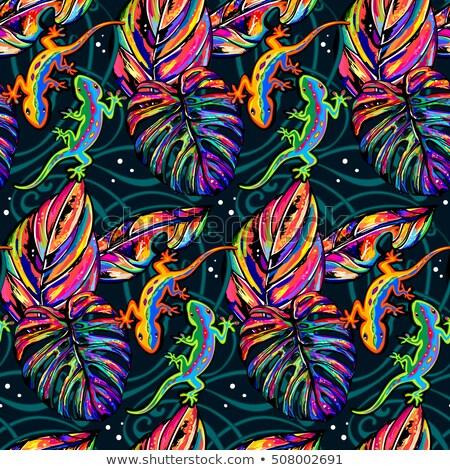 naadloos · abstract · etnische · vector · patroon - stockfoto © sifis