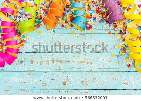 ストックフォト: Multicoloured Backdrop For Greetings Or Invitations With Frames
