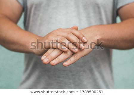 Rubbing Hands Together Stock photo © gemphoto