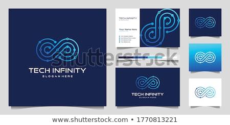 Oneindigheid ontwerp vector icon illustratie logo Stockfoto © Ggs