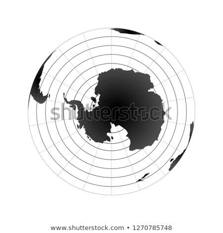 Арктика мира Мир карта мнение пространстве изолированный Сток-фото © evgeny89
