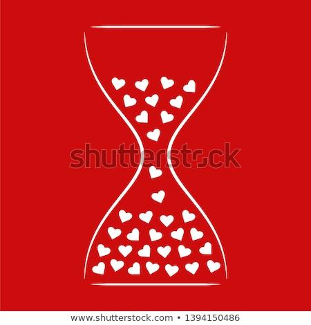 idő · szeretet · óra · magas · döntés · szavak - stock fotó © kbuntu