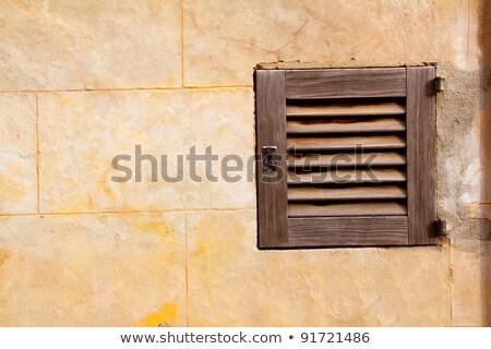 tradizionale · legno · Windows · casa · muro - foto d'archivio © lunamarina