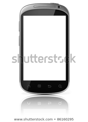 cellule · mobiles · 3D · téléphone · portable · connexion - photo stock © fenton