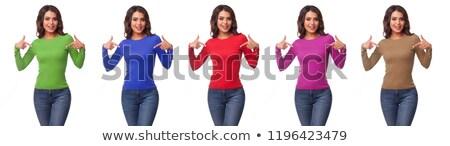 マネキン · 販売 · 冬 · 服 · 女性 · モデル - ストックフォト © lypnyk2