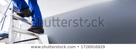 Plumber on a ladder Stock photo © photography33