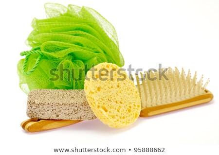 Shower Puff, pumice and massage brush  Stock photo © zhekos