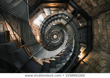 stone lighthouse stairway Stock photo © smithore
