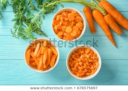 cook cutting carrots stock photo © photography33