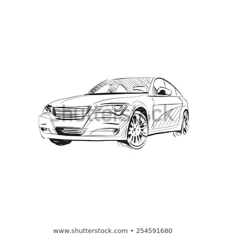 Car Sketch Stock photo © fixer00