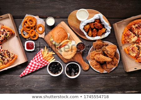 party food variety stock photo © lisafx
