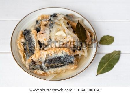 Fried herring. Stock photo © maisicon
