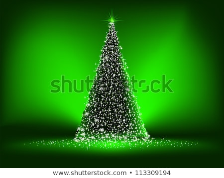 Verde Natale eps vettore file felice Foto d'archivio © beholdereye