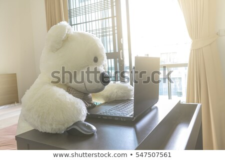 Soft lovely funny doll Stock photo © michey