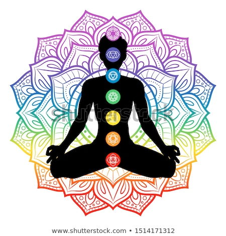 Chakra Seven Mandala stock photo © hpkalyani