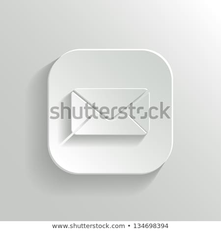 abstract shiny spam mail icon Stock photo © pathakdesigner