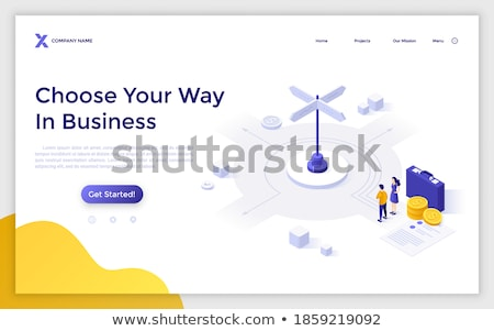 Business Crossroads Stock photo © Lightsource