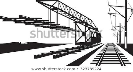железная · дорога · процесс · подробность · улице · вертикальный · город - Сток-фото © ABBPhoto