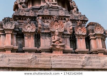 Detail of the Krishna temple in Hampi Stock photo © jet