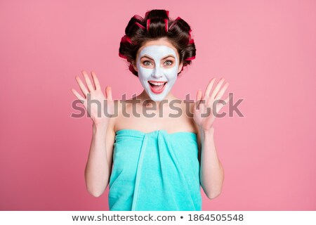 Great girl with clear complexion Stock photo © konradbak