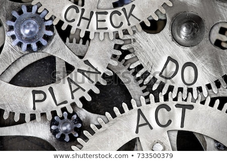 計画 · チェック · 行為 · 人 · タブレット - ストックフォト © marinini